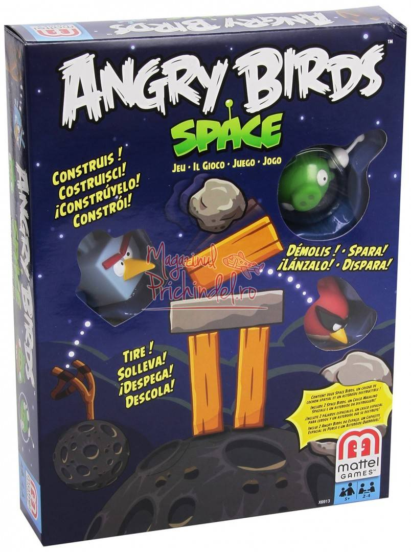 Angry Birds Space Toys : Angry birds in space game