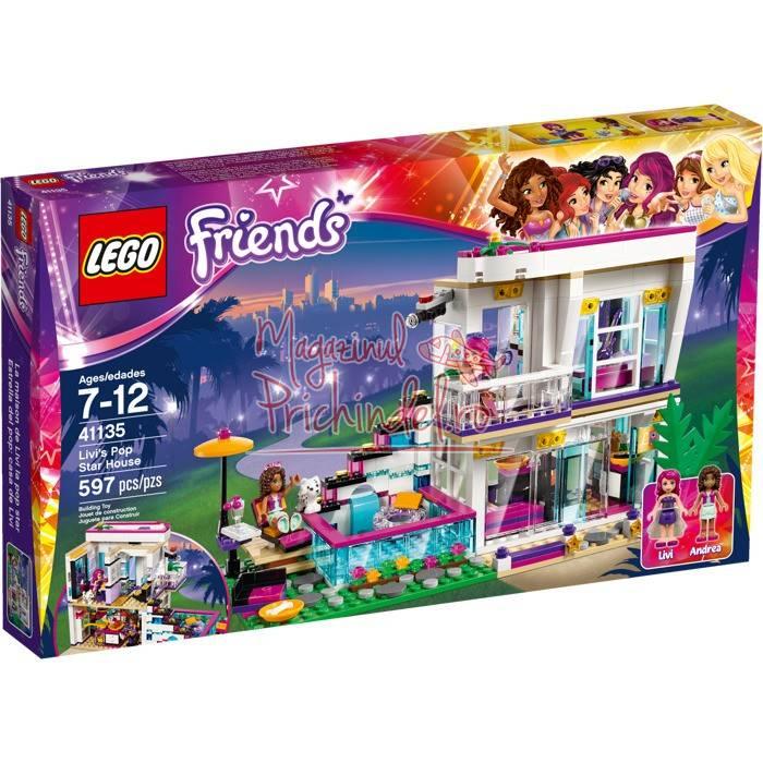 Lego friends casa vedetei pop livi - Lego friends casa de livi ...