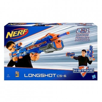 Nerf N-Strike Long Shot CS-6 Blaster