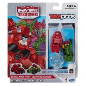 Angry Birds Transformers Sentinel Prime vs Deceptihog Bludgeon RV
