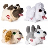 Chubby Puppies and Friends Soft Toy Moving Puppy