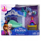 Disney Frozen MagiClip Flip 'N Switch Anna Castle Doll