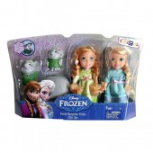 Frozen Petite Surprise Trolls Gift Set