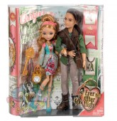 Ever After High  Set papusi Ashlynn si Hunter BFX07