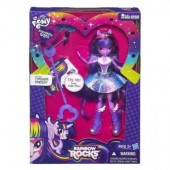 My Little Pony Equestria Girls Rocks Papusa muzicala Twilight Sparkle A6683