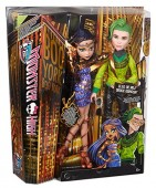 Monster High Boo York Cleo De Nile si Deuce Gorgon CHW60