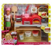 Papusa Barbie face pizza - set de joaca FHR09