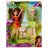 Papusile Fairies Legend of the Neverbeast - Tink si Fawn