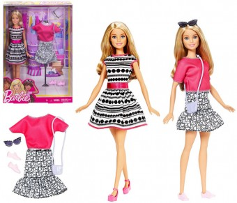Barbie Fashionista papusa Blonda FFF59