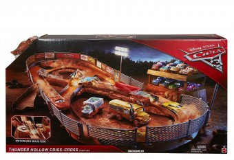 Cars 3 Thunder Hollow Speedway Track FCW01