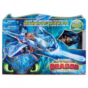 Dragonul Toothless Figurina How to Train Your Dragon 6045436