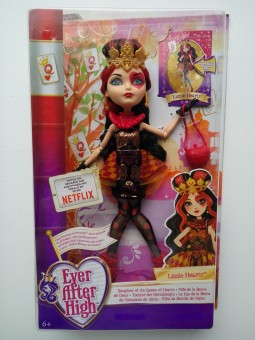 Ever After High Lizzie Hearts Papusi rebele (fara suport)