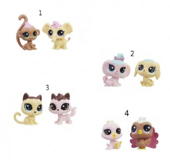 Littlest Pet Shop Seria 2 set 2 figurine E0399