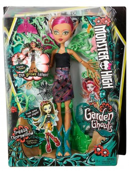 Papusa uriasa Monster High Garden Ghouls Wings Treesa Thornwillow FCV59  38 cm