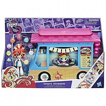 MY LITTLE PONY Sunset Shimmer Rollin Sushi Truck C1840