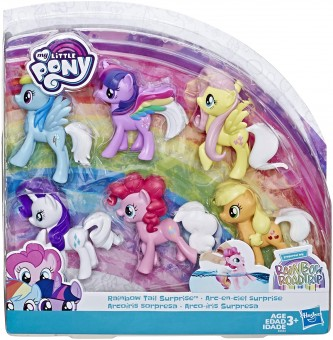 My Little Pony Toy Rainbow Tail Surprise E5553