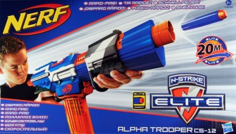 Nerf Elite Alpha Trooper CS-12 A3698