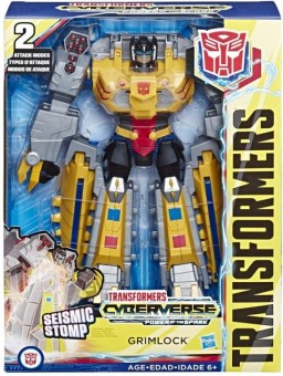 Transformers Toys Cyberverse Action Attackers Ultimate Class Grimlock E4803