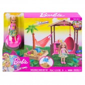 Barbie Club Chelsea Vacanta Tropicala FWV24