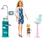 Barbie doctor stomatolog cu pacient FXP16