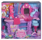 Barbie Mermaid Salon BHM95 set de joaca