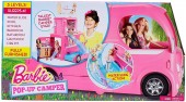 Barbie Pop-Up Camper Vehicle Doll CJT42