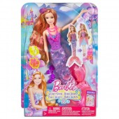 Papusa Barbie Sirena Romy 2 in 1 BLP25