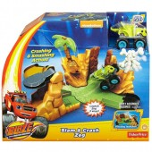 Blaze and the Monster Machines Set de Joaca Zeg Sare si Doboara DGK57