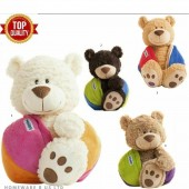 Buddy Balls Max Ursuletul Teddy se transforma in minge 38 cm BB004 plus