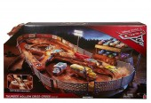 Cars 3 Thunder Hollow Speedway Track FCW01 set de joaca