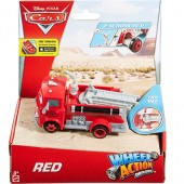 Cars Wheel Action Drivers Red DKV37
