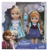 Frozen Deluxe Toddler Elsa, Anna and Olaf