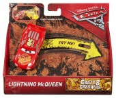 Disney Pixar Cars 3 Crazy 8 Crashes Lightning McQueen DYB04