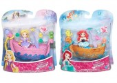 Disney Princess Little Kingdom in Barca B5338 set de joaca cu mini papusa
