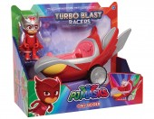 Eroi In Pijama Bufni-planor Turbo Blast cu figurina 24977
