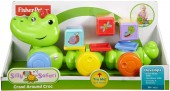Fisher-Price Crocodil cu Cuburi DGT90