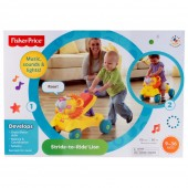 Fisher Price Premergator 2in1 Stride to Ride Lion