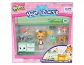 Happy Places Shopkins Kitty Kitchen cu papusa