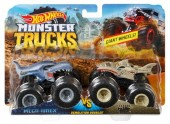 Hot Wheels Monster Trucks Demolition Doubles Mega Wrex vs Leopard Shark  FYJ65