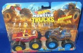 Hot Wheels Monster Trucks Spur of the Moment vs Steer Clear GBT70