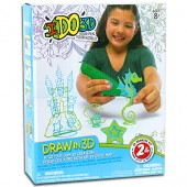 IDO3D Set 2 Creioane 3D Dragon