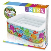 Intex Piscina gonflabila  Aquarium 57471 159X159X50 cm