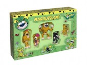 Marsupilami Set 5 mini Figurine 60807 set de joaca