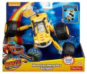 Masinuta Articulata 2 in 1 Stripes - Blaze and the Monster Machines
