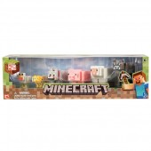 Minecraft Animal Pack 16590 set 6 figurine