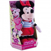 Minnie Mouse figurina de plus care trimite pupici