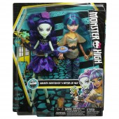 Monster High Midnight Bites Amanita Nightshade and Nefera de Nile DMD73