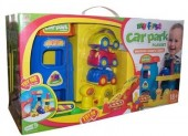 My First Electronic Car Park Playset garaj