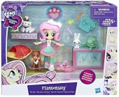 MY LITTLE PONY Equestria girls Fluttershy Pet Spa B9495