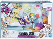 My Little Pony Equestria Girls Rainbow Dash Sporty Beach E1085